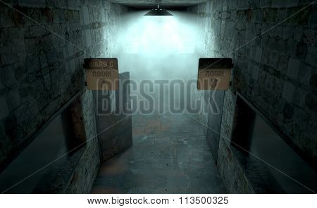 Mental Asylum Haunted