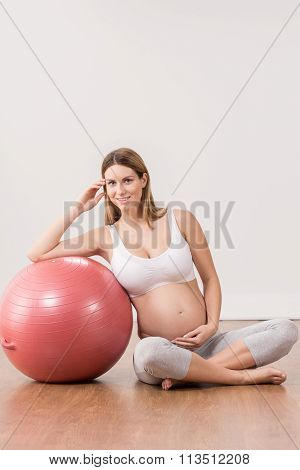 Beautiful Woman In Pregnant