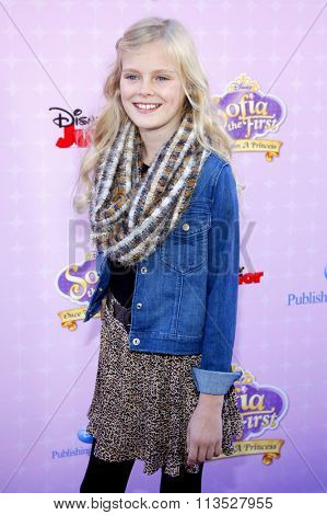 Harley Graham at the Los Angeles premiere of