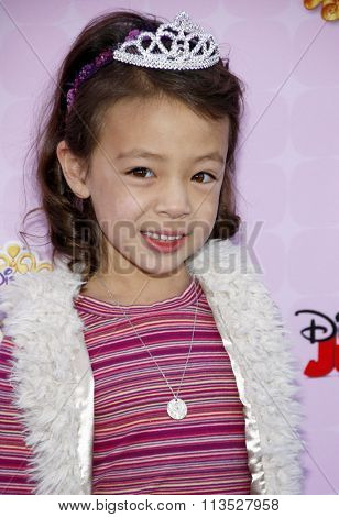 Aubrey Anderson-Emmons at the Los Angeles premiere of