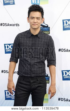 John Cho at the 2012 Do Something Awards held at the Barker Hangar in Los Angeles, USA on August 19, 2012.