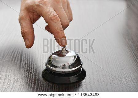 Male Hand Ringing