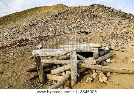 abandond mine lincolin camorn bross democrat Colorado 14er