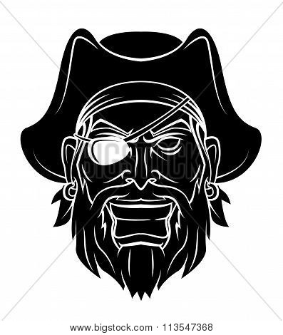 Pirate Warrior vector illustration
