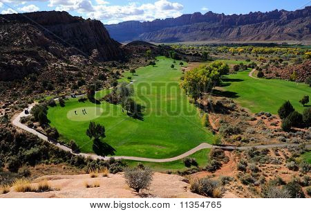 Moab Desert Golf Course