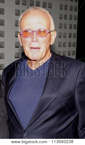 HOLLYWOOD, CALIFORNIA - August 30, 2011. Peter Weller at the Season 4 premiere of FX Network's