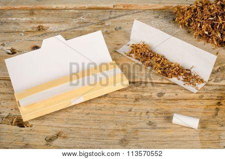 Rolling Cigarettes