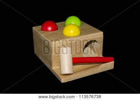 Wooden Hammering Toy