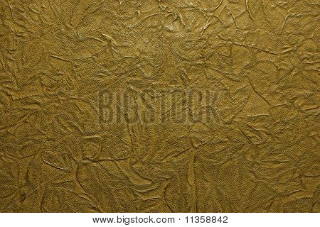 Brown printed leather texture closeup for background poster