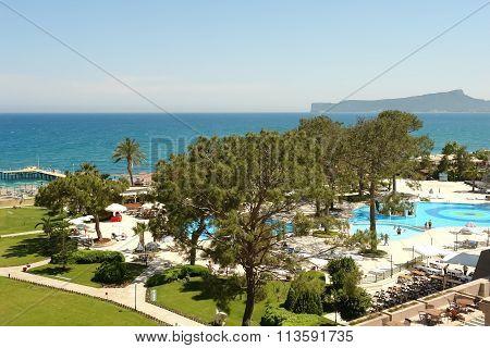 Landscape In Kilikia Palace Hotel