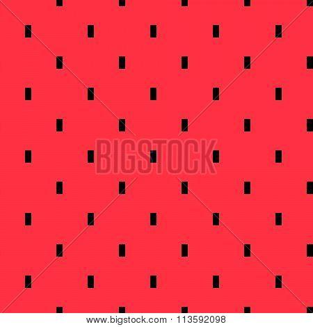 Watermelon pulp geometric pattern.