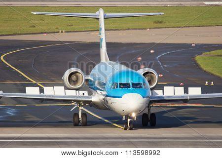 Klm Cityhopper Fokker F70