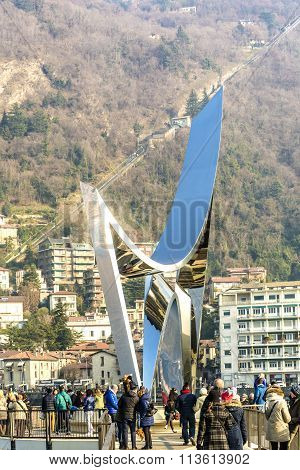 Libeskind Sculpture In Como