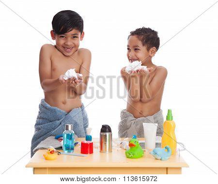 Shaving Fun