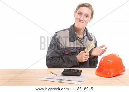 Builder At The Table