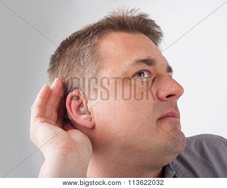 Deaf Man Cant Hear