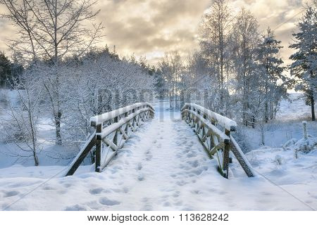 snowy little bridge 2