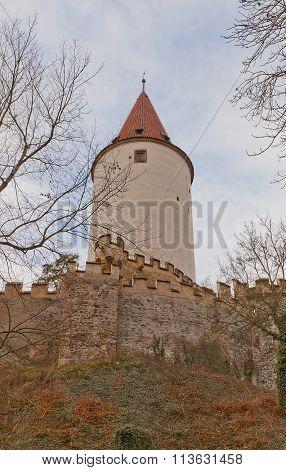 Krivoklat Castle (xii C.), Czech Republic