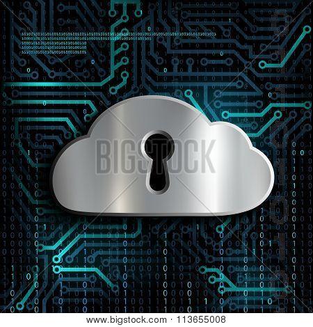 Information Storage. Stock Illustration.