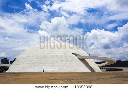 The National Museum In Brasilia, Capital Of Brazil