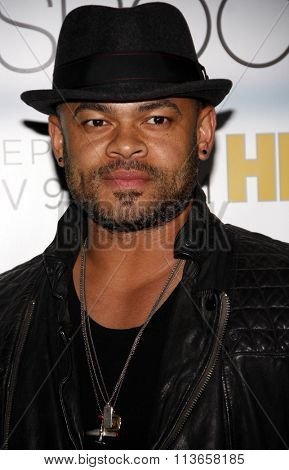 Anthony Hemingway at the Los Angeles premiere of HBO's