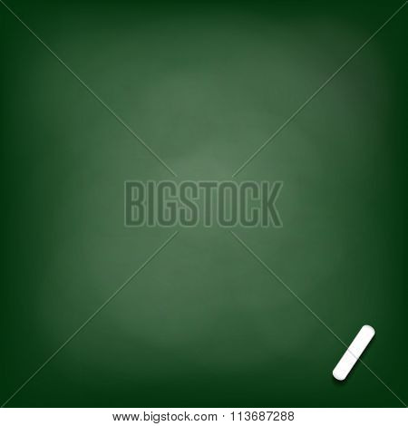 Chalk Board. Stock Illustration.
