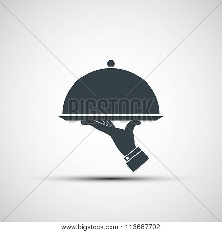 Restaurant. Stock Illustration.