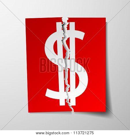 Dollar Currency Symbol.