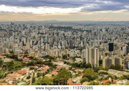Belo Horizonte . Capital Of Minas Gerais State , Brazil.