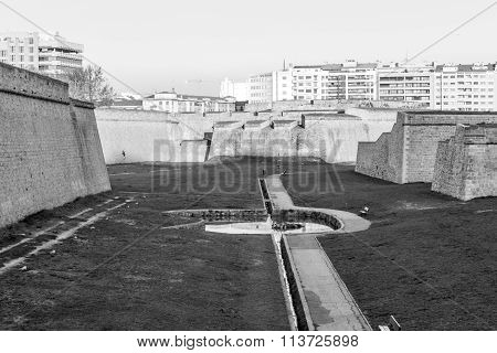 Citadel In Black And White
