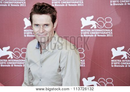 Actors Willem Dafoe