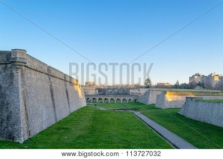 Bridge To The Fortifications