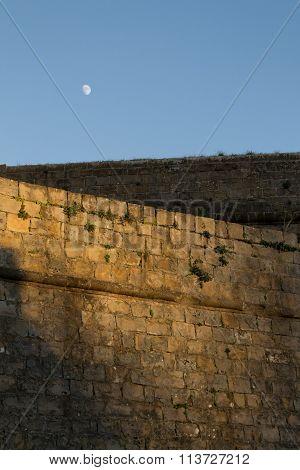 Walls And Moon