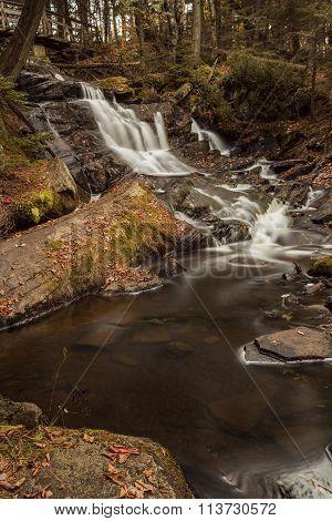 Little High Falls In Fall