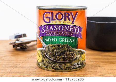 Southern Style Mixed Greens