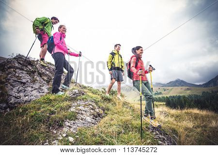 Hikers On Excursion