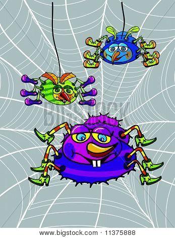 Spiders Cartoon