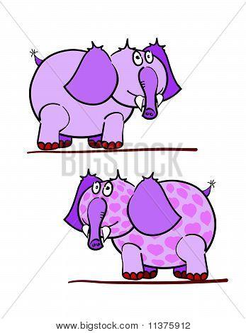 Purple Elephants