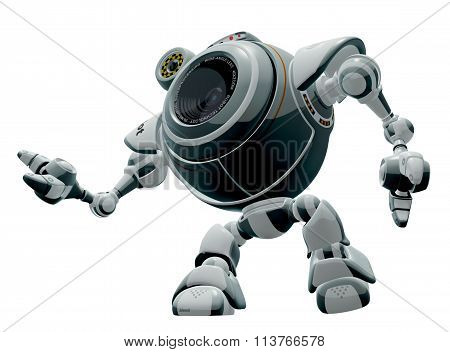 Robot Web Cam Looking Up