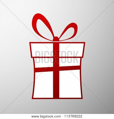 Gift Box. Stock Illustration.