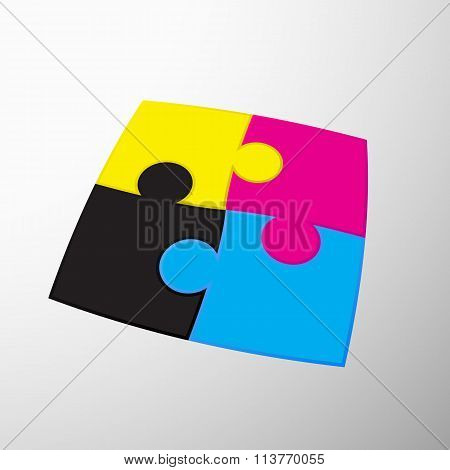 Colors Design. Stock Illustration.