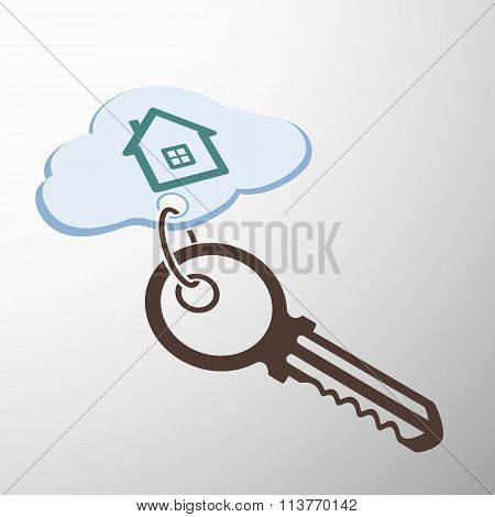 Key With Keychain.