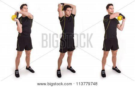 Kettlebell, Halo, Exercise