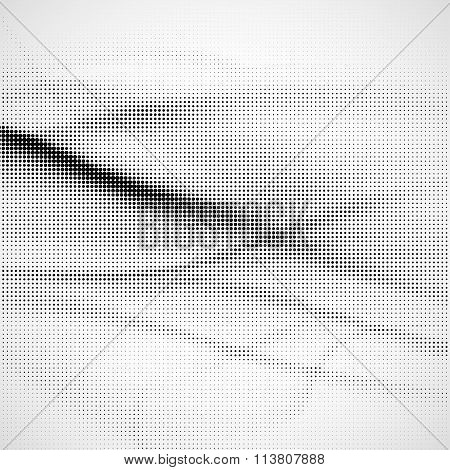 Grunge Halftone Background.