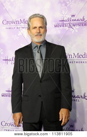 LOS ANGELES - JAN 8:  Gregory Harrison at the Hallmark Winter 2016 TCA Party at the Tournament House on January 8, 2016 in Pasadena, CA