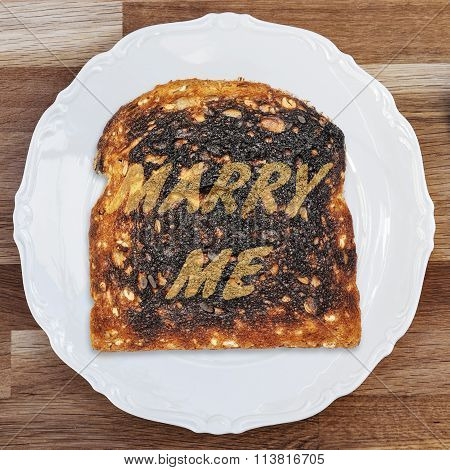 Burnt Toast Marry Me