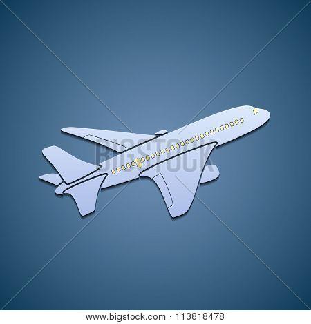 Icon Passenger Aircraft.