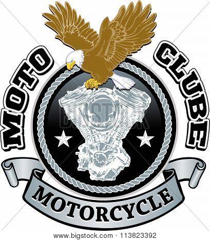 Motorcycle Biker Racing Vector Design