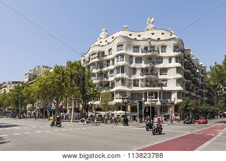 BARCELONA, SPAIN - JULY 11