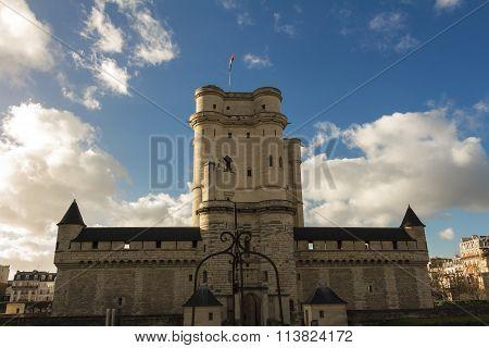 The Vincennes Castle, Paris, France.